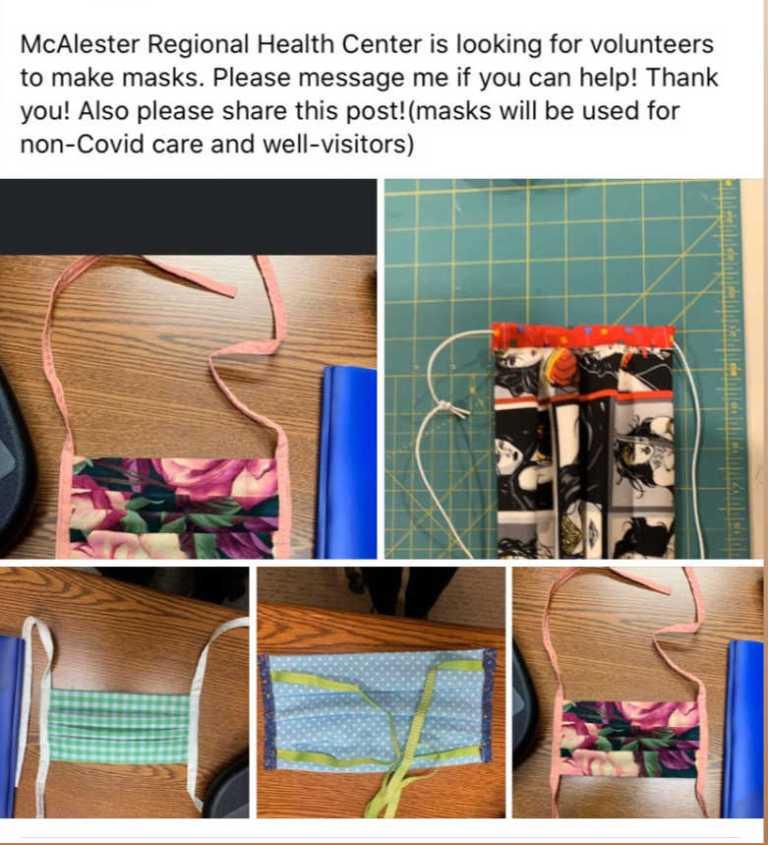 Sew Masks Pic 1