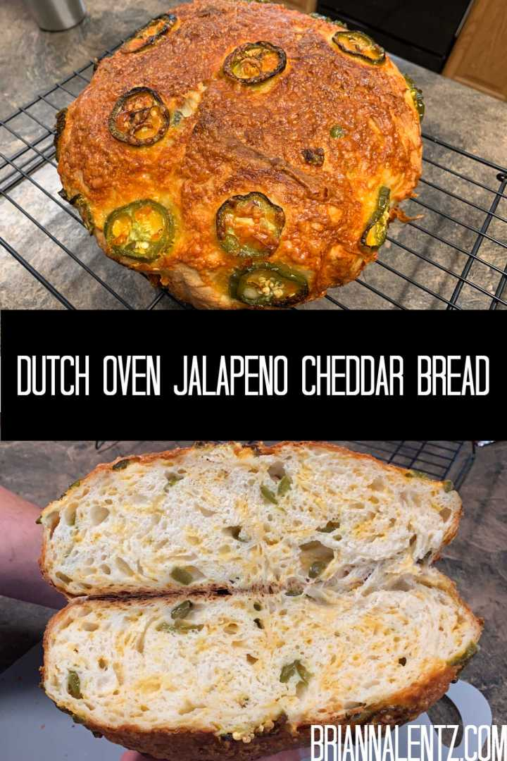 Dutch Oven Jalapeno Cheddar Cheese Bread