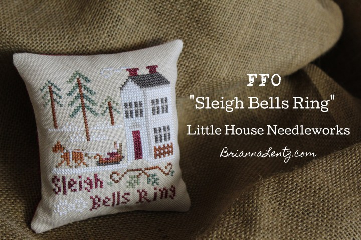 "How I Fully Finished My Cross Stitch ""Sleigh Bells Ring"" by Little House Needleworks And Thread Conversion"