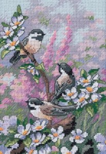 Dimensions Kit Chickadees in Spring