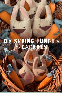 Brianna Lentz DIY Spring Bunnies and Carrots
