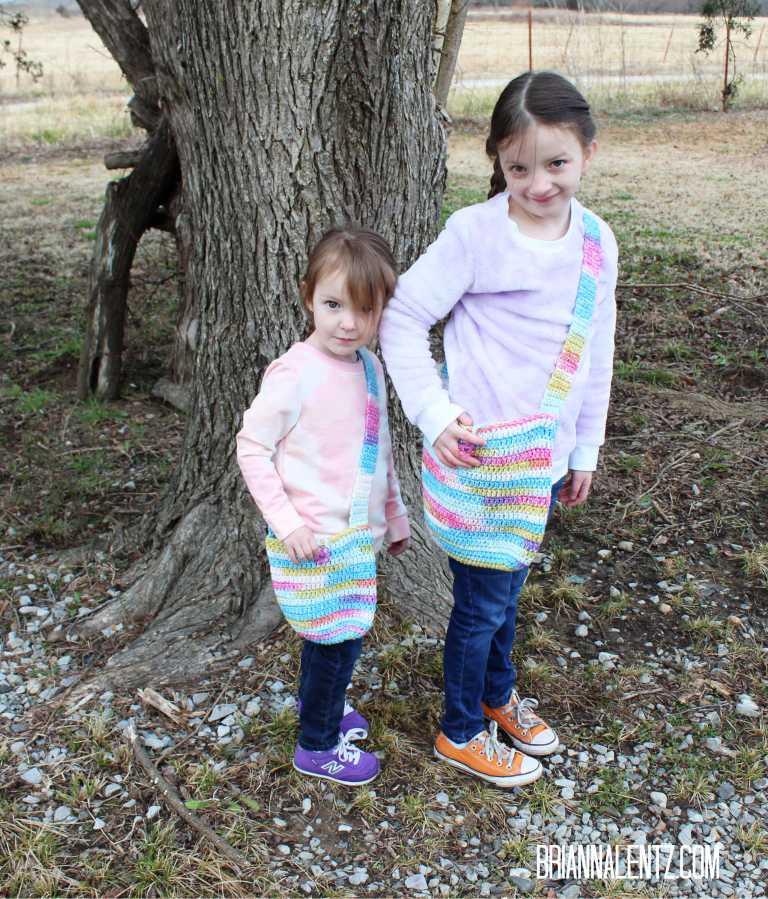 Big Sis Lil Sis Crochet Purse Pattern Free Crochet Pattern Brianna Lentz