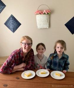 Lemon Bars Brianna Lentz and girls