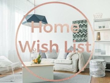 10 Things on my Amazon Home Wish List