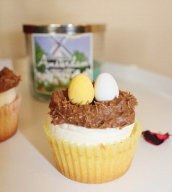 Lemon Easter Cupcakes
