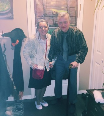 Fall To Do List Fall tag Old Couple Halloween Costume and Makeup