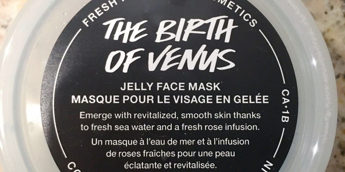 Birth of Venus Lush Face Mask Review