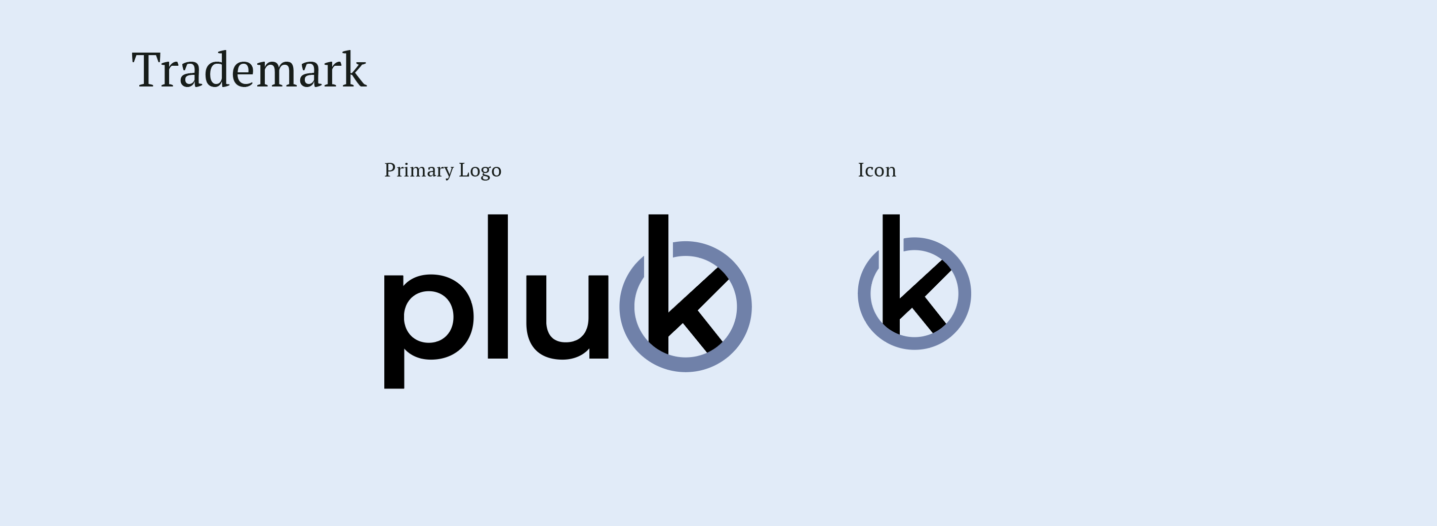 pluk logo and icon