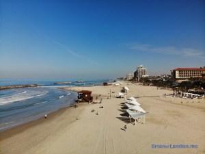 Herzliyah Beach, Israel by Mavic Air drone.