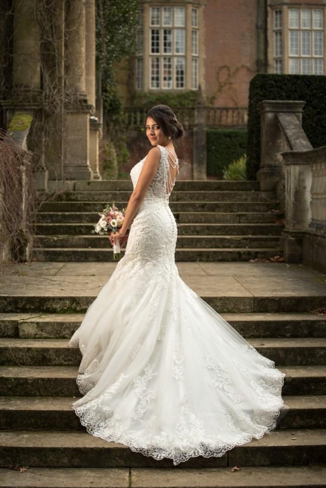 Erica & Alex's Winter Wedding at Tylney Hall