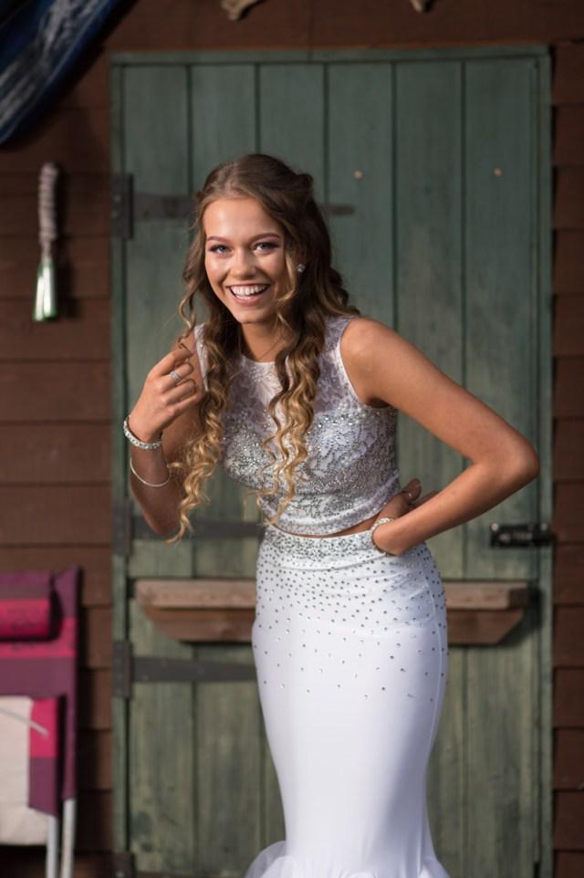Mia's School Prom Shoot