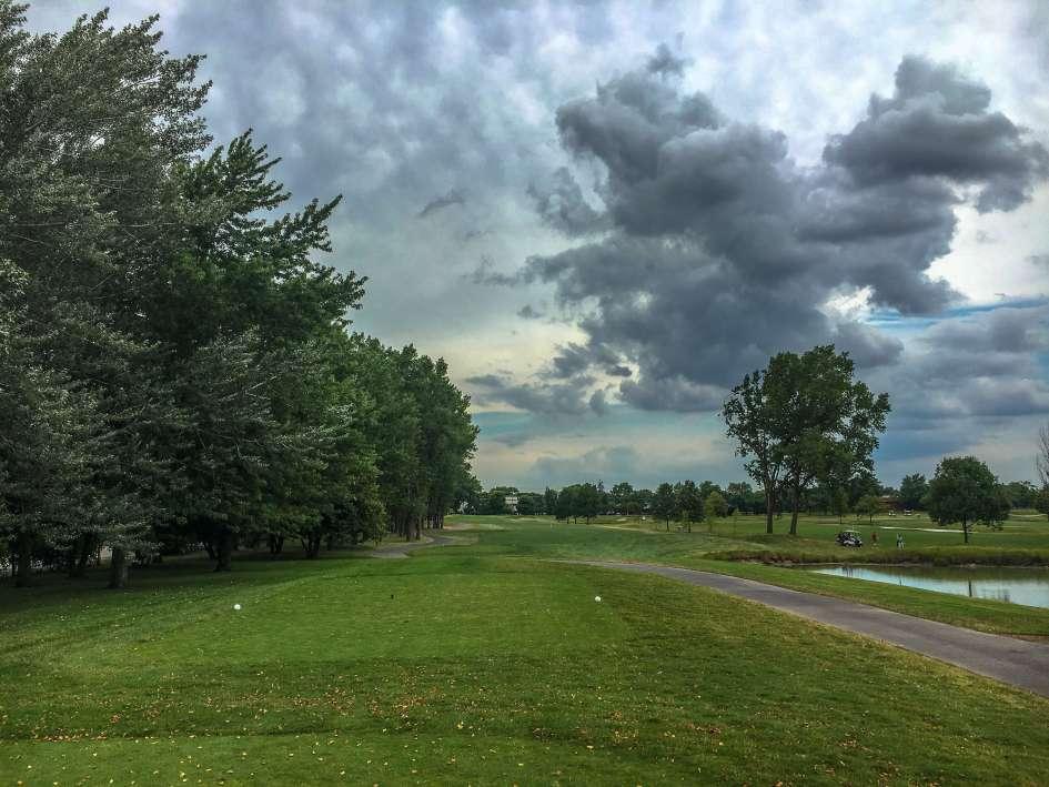 Arlington Lakes Golf Course - Arlington Heights - Tee Shot - Old Hole 13, New Hole 4 - Tee Shot