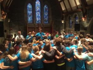 A photo from one of several Teens Encounter Christ (TEC) events from 2014.