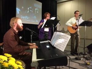 Musicians lead worship at ECMN Convention 2015