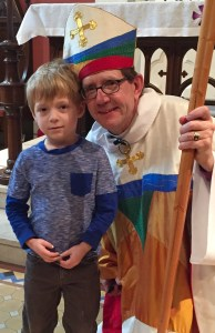 A photo from a service that took place Sunday, February 21 at St. Clement's, St. Paul