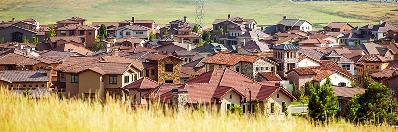 homes in a Lakewood, Colorado