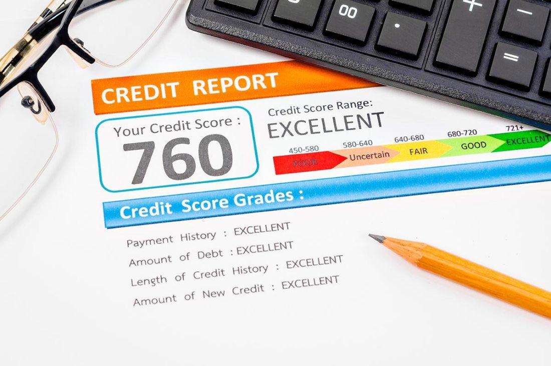 Good credit report