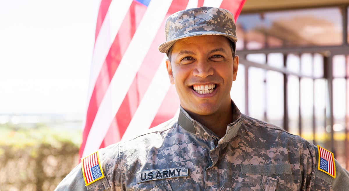 VA Cash Out Refinance makes this military veteran happy