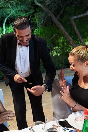 Close Up Magician in Malta - Brian Role
