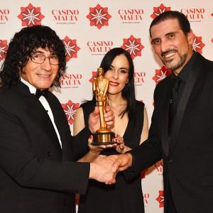 Malta Magician receives highest award in Magic - Merlin Magic Award Magician Malta