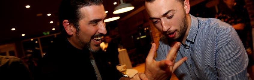 Cororporate Events Entertainment Magician Malta Close Up Magic