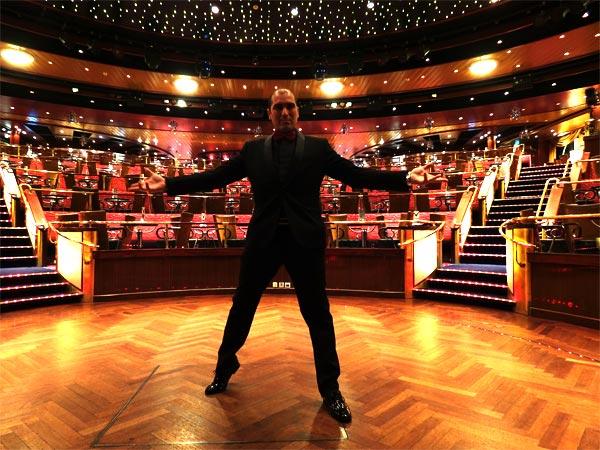 Brian Role Magician on Colorline Cruise Ship