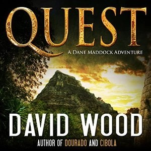 Audiobook: Quest by David Wood (Dane Maddock #3) (Narrated by Jeffrey Kafer)