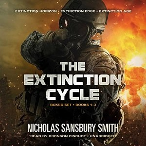 Audiobook: The Extinction Cycle Boxset (Books 1-3) by Nicholas Sansbury Smith (Narrated by Bronson Pinchot)