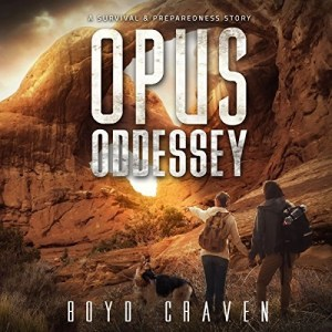 Audiobook: Opus Odyssey (One Man's Opus #2) by Boyd Craven III (Narrated by Kevin Pierce)