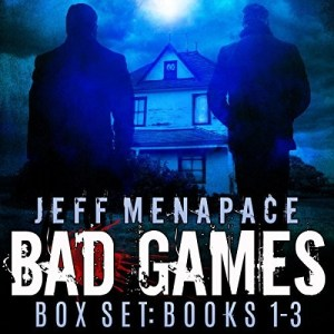 Audiobook: The Bad Games Series Box Set: Books 1-3 by Jeff Menapace (Narrated by Gary Tiedemann)