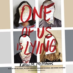 Audiobook: One of Us is Lying by Karen M. McManus (Narrated by Various Artists)
