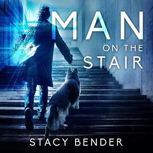 Man on the Stair by Stacy Bender