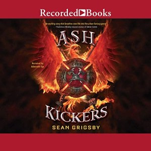 Ash Kickers (Smoke Eaters #2) by Sean Grigsby (Narrated by Adenrele Ojo)