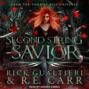 Second String Savior by Rick Gualtieri & R.E. Carr (Narrated by Andrea Emmes)