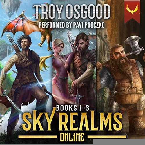 Sky Realms Online Books 1-3: A LitRPG Series Box Set by Troy Osgood