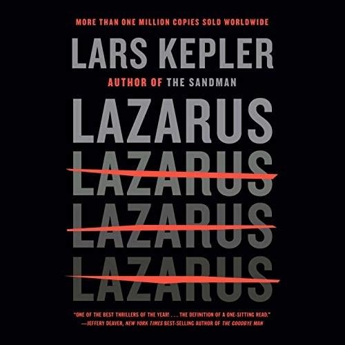 Lazarus by Lars Kepler, Neil Smith - translator