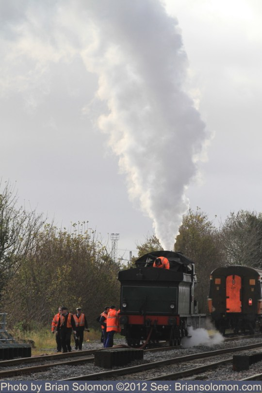 Railway Preservation Society Ireland with 461, 2-6-0 built in 1923.