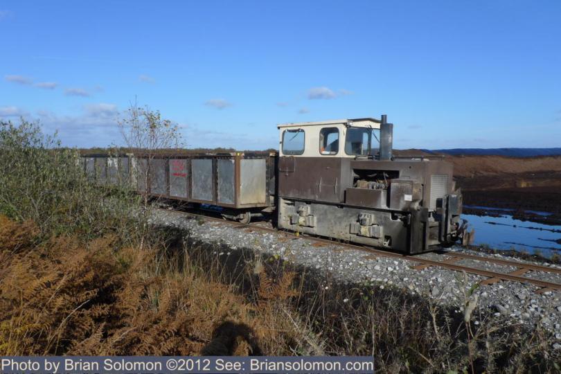 Bord na Mona locomotive.
