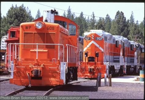 Preserved Western Pacific diesels