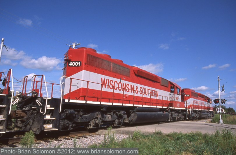 SD40-2s at work.