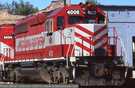 WSOR_SD40-2_Janesville_WI_Jul2005_©Brian Solomon