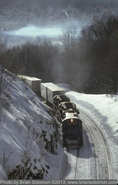 Conrail at Washington Massachusetts