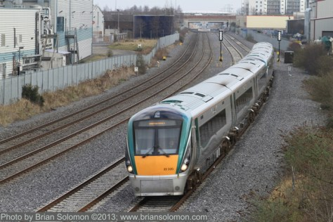 Irish Rail passenger train
