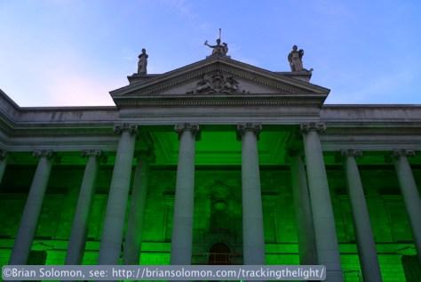Bank of Ireland on College Green, Dublin.