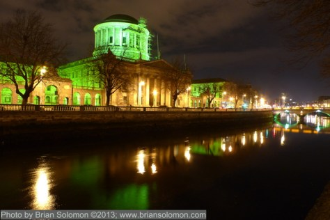Four Courts designed by Gandon.