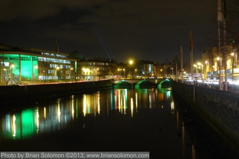 River Liffey at Wood Quay.