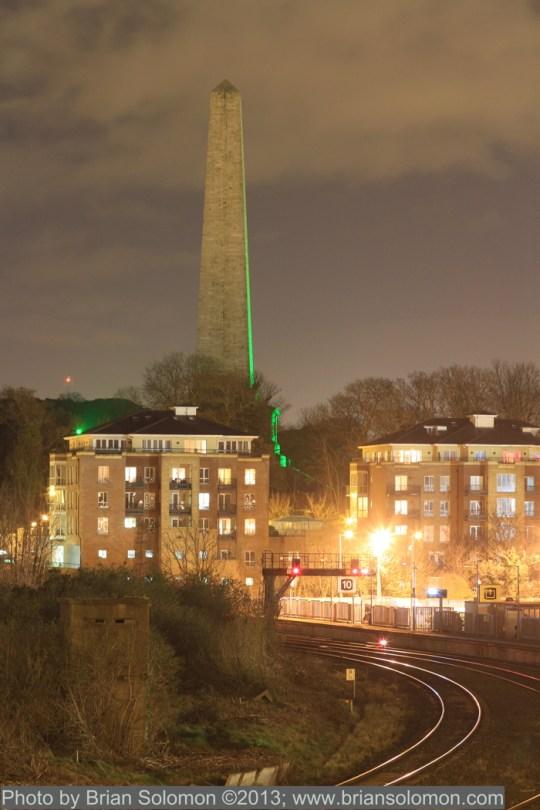 Irish Rail at night