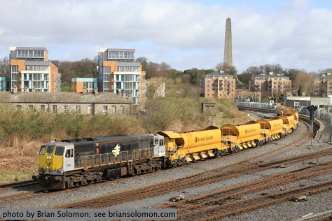 Irish Rail Ballast Train