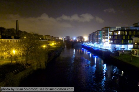 River Liffey at Midnight.