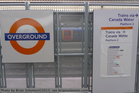 London Overground platforms at Clapham Junction. Lumix LX-3 photo.